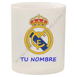 dbd55b0af1371 Taza personalizable tu nombre texto personalizado Real Madrid