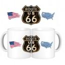 Taza Route 66 USA