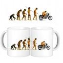 Taza Evolucion Moto