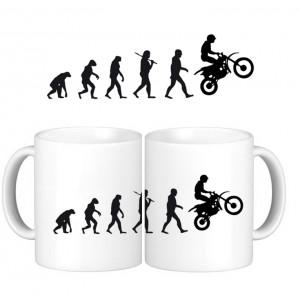 Taza Evolucion Motocross