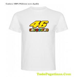 Niña Juvenil 46 Infantil Hombre Niño Camiseta Valentino Mujer Rossi qR5XwWI