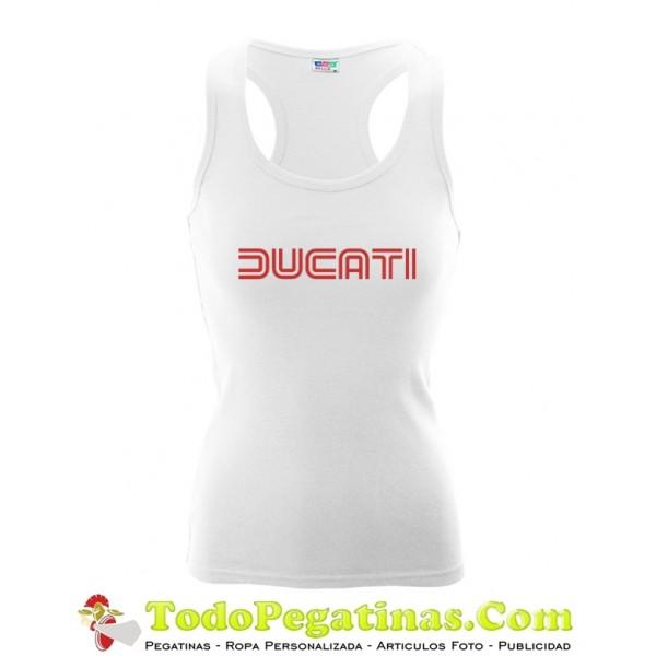 Camiseta Ducati Ducati Mujer Mujer Motera Camiseta r6rqwWg1v