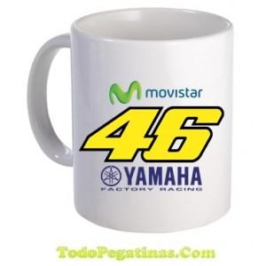 Taza Movistar Rossi 46 Yamaha