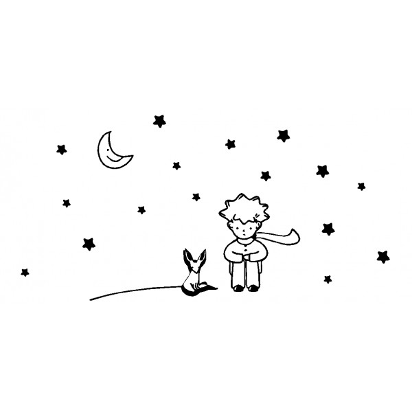 the little prince coloring pages - photo#25