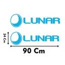 Vinilo Caravana Lunar 90x24