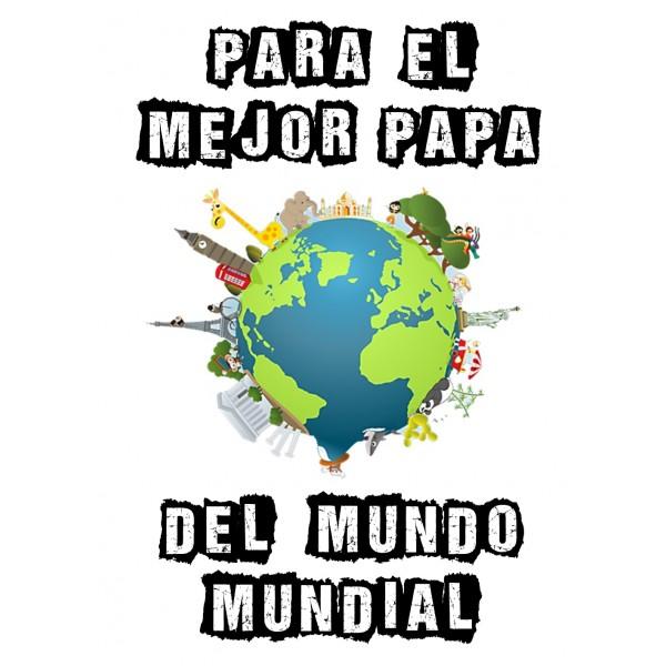 Para el mejor papa del mundo mundial sudadera capucha papa dia del padre regalos originales - El mejor colchon del mundo ...