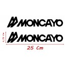 Vinilo Caravana Moncayo 25x4,75 Cm