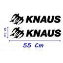 Vinilo Caravana Knaus 55 Cm Modelo 2