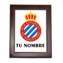 Azulejo RCD Espanyol Personalizado Nombre