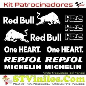 Kit Pegatinas Honda MotoGP 2019