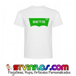 Camiseta Betis Logo tipo Levis