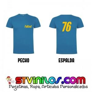 Camiseta Fallout 76 Azul