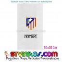 Toalla Atletico de Madrid Clasico Personalizada 50x30 Cm