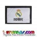 Cartera Real Madrid Billetera Personalizada