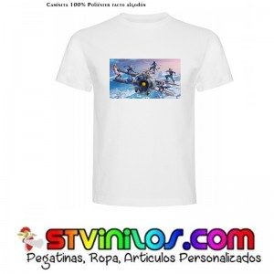 Camiseta Fortnite Temporada 7