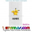 Toalla Pokemon Pikachu