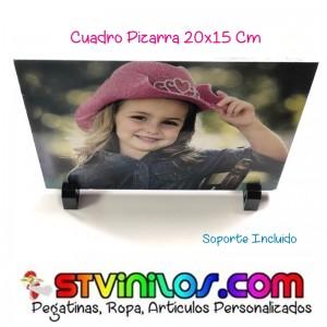 Cuadro Pizarra Liso Personalizado con foto