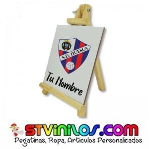Caballete SD Huesca azulejo personalizado con nombre
