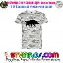 Camiseta Caza Jabali Monteria