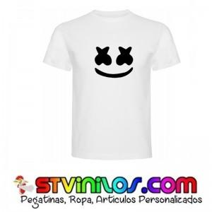 Camiseta DJ Marshmello Logo