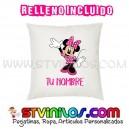 Cojin Minnie Mouse Personalizado con Nombre