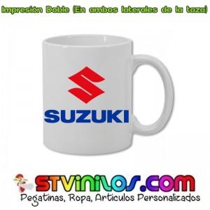 Taza Logo Suzuki