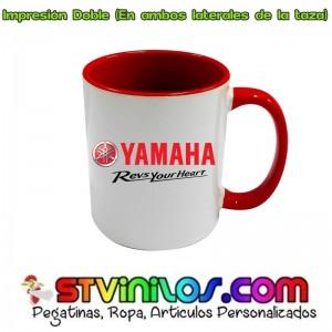 Taza Yamaha Revs Your Heart Roja