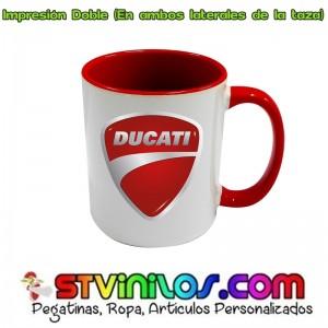 Taza Logo Ducati Roja