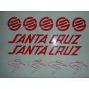 Pegatinas Santa Cruz Modelo 1