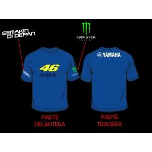 Camiseta Valentino Rossi 46 Yamaha 832d5e77e87a1