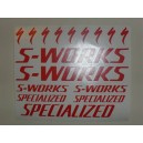 Pegatinas S-Works Modelo 1