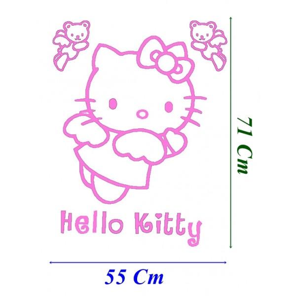 Vinilo infantil hello kitty vinilos infantiles for Vinilo hello kitty