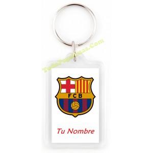 LLavero FC Barcelona Barça personalizado con tu nombre 0c88dc369c8