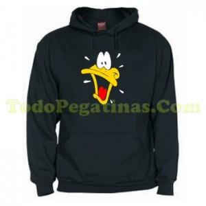 Sudadera Pato Lucas Cara Looney Tunes